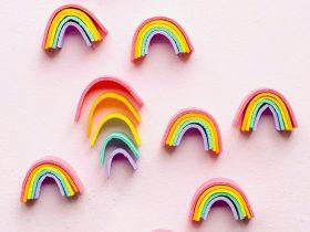 迷你彩虹玩具