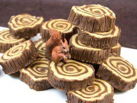 伐木工人最爱:树环巧克力软糖DIY