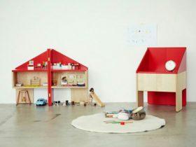 二合一玩具屋椅子