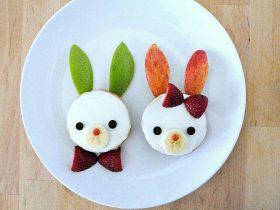 DIY兔子百吉饼