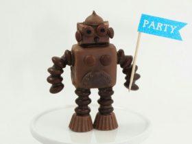 DIY巧克力机器人