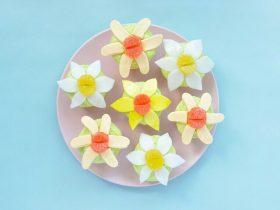 水仙花糖果蛋糕