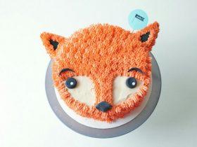 DIY狐狸蛋糕