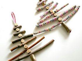 树枝艺术DIY